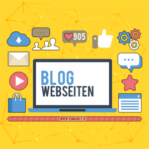 Blog-Webseiten